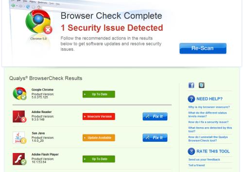 Kiểm Tra Bảo Mật và browser