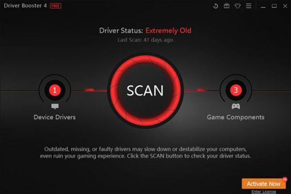 Cập Nhật Driver và Scan